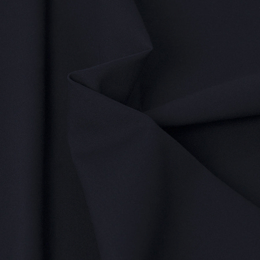 Navy Cotton Stretch Fabric 2848Woven