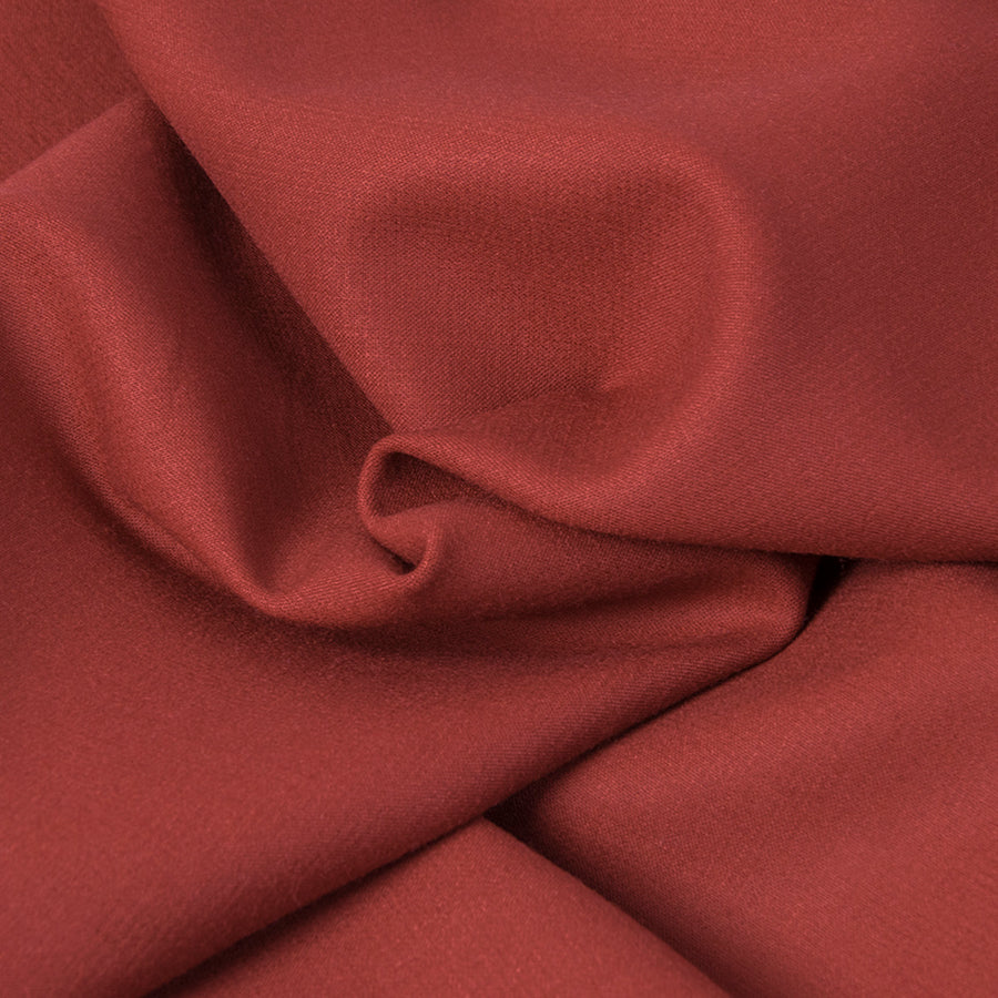 Burgundy Doublewave Stretch Fabric 291 - Fabrics4Fashion