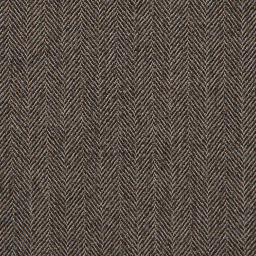 Brown Herringbone Tweed 306 - Fabrics4Fashion