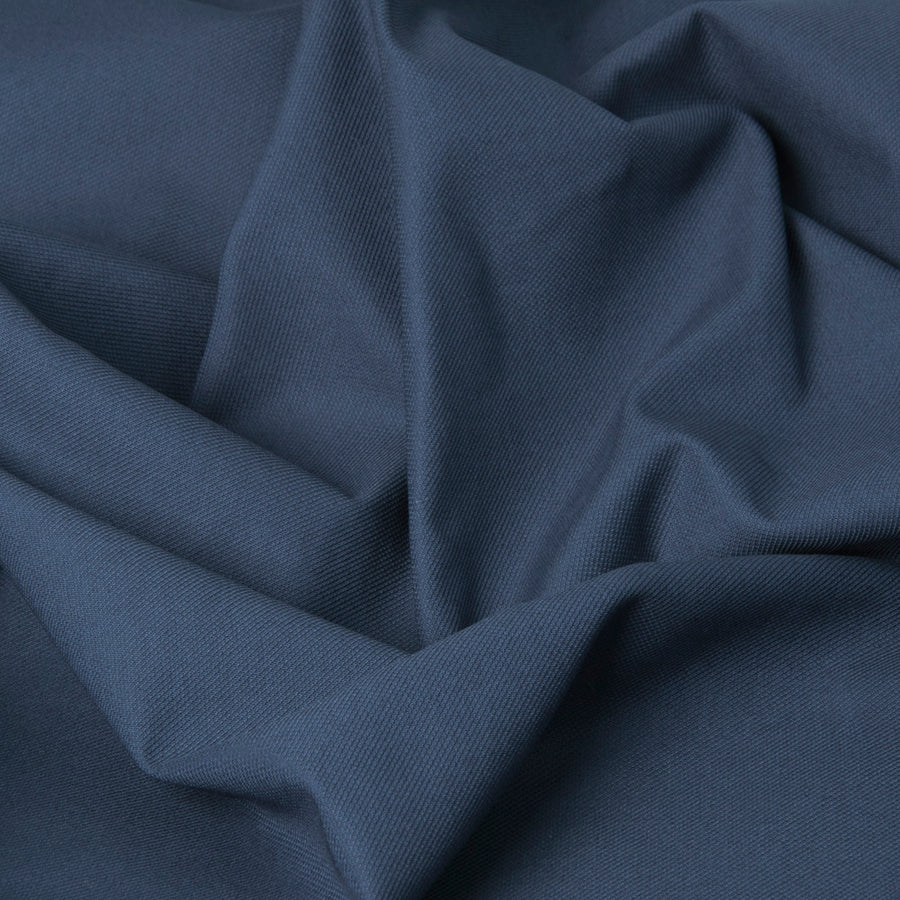 Stretch Blue Canvas Fabric 3235Woven