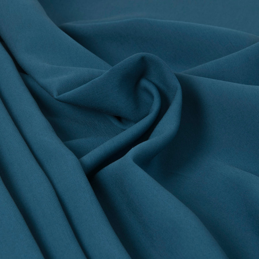 Pavone Blue Viscose Suiting Fabric 3287Woven