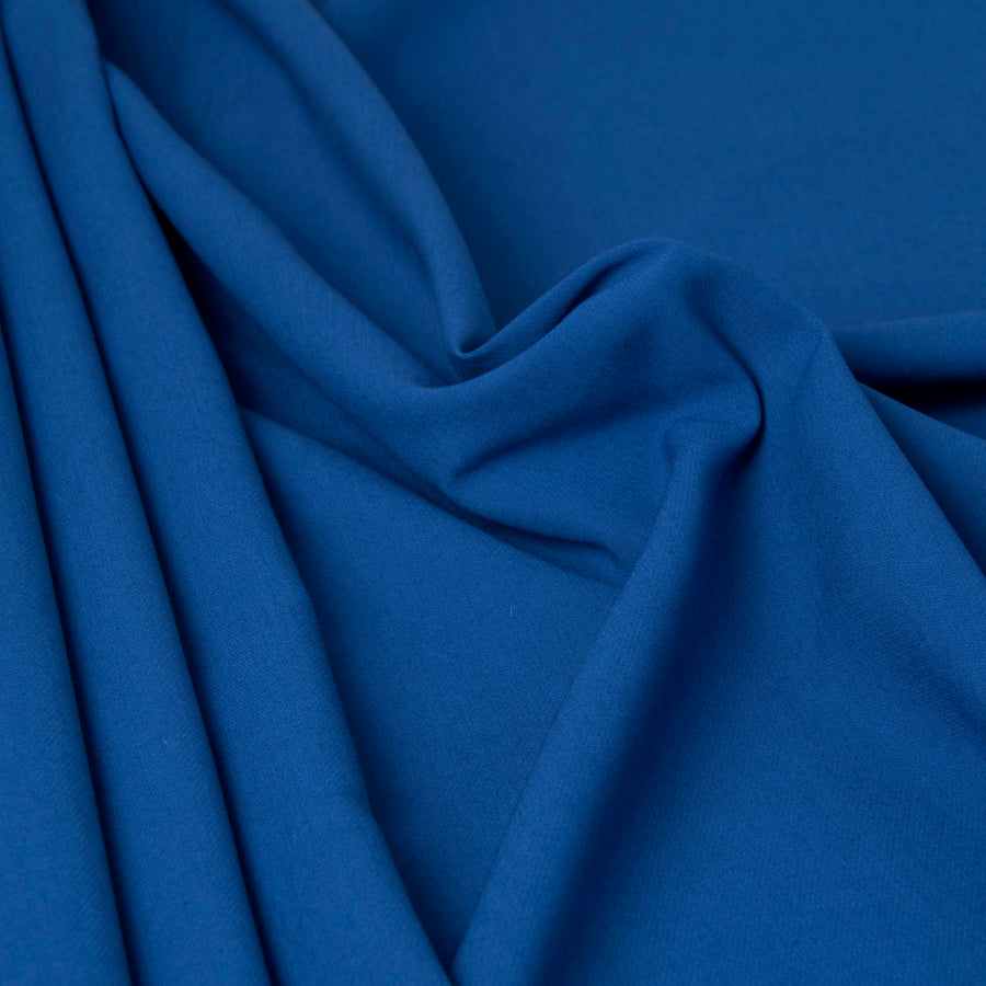 Cobalt Mid-weight Stretch Fabric 3288 - Fabrics4Fashion