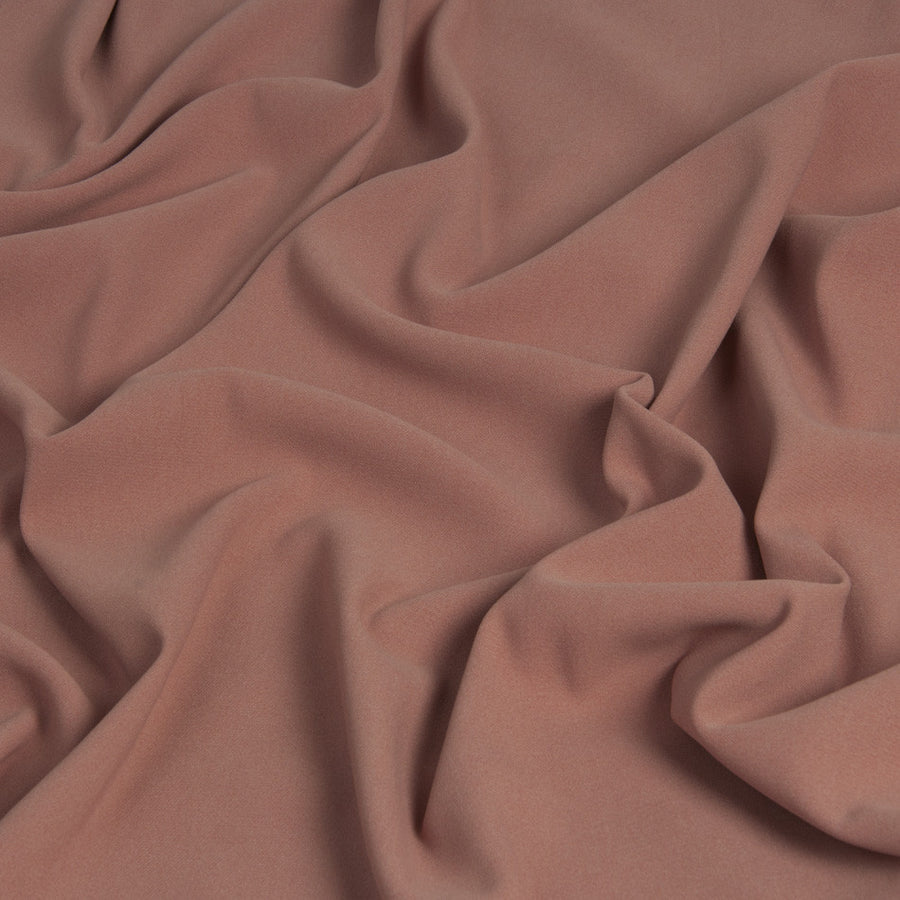 Coral Crepe Stretch Fabric  355 - Fabrics4Fashion