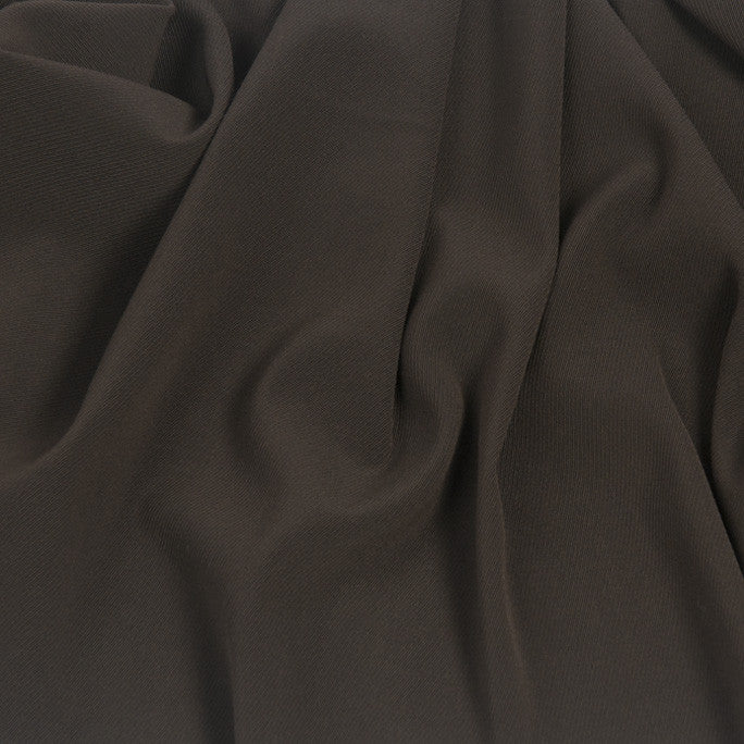 Brown Textured Suiting Fabric 36 - Fabrics4Fashion