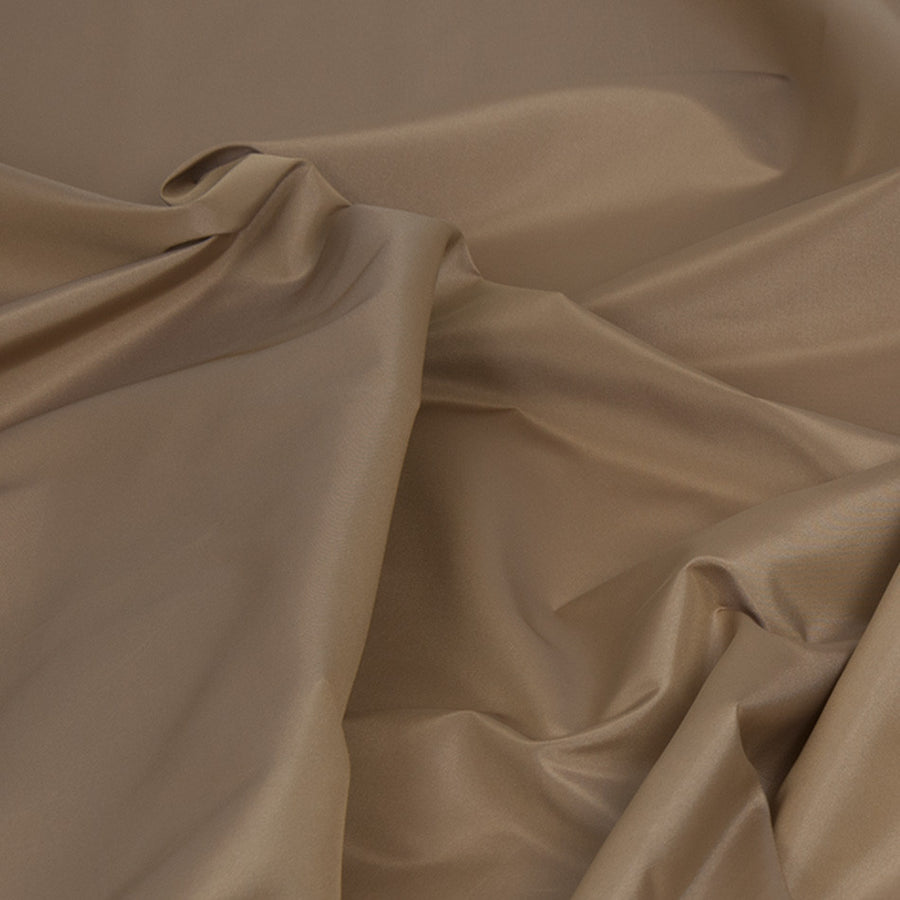 Beige Shiny Polyester 364 - Fabrics4Fashion