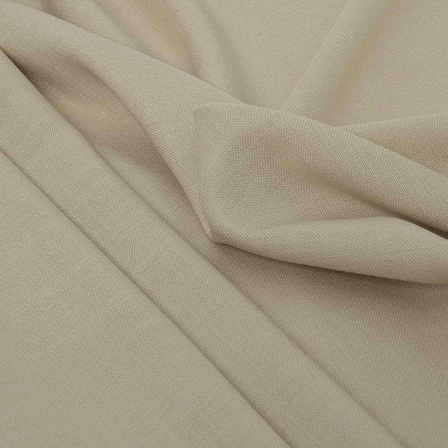 Beige Poly/Modal Canvas 378 - Fabrics4Fashion