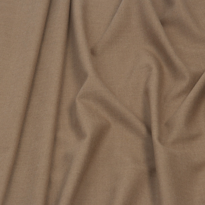 Camel Suiting Flannel 386 - Fabrics4Fashion
