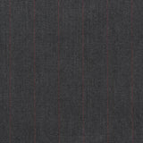 Grey Chalk Stripe Suiting Fabric 390 - Fabrics4Fashion