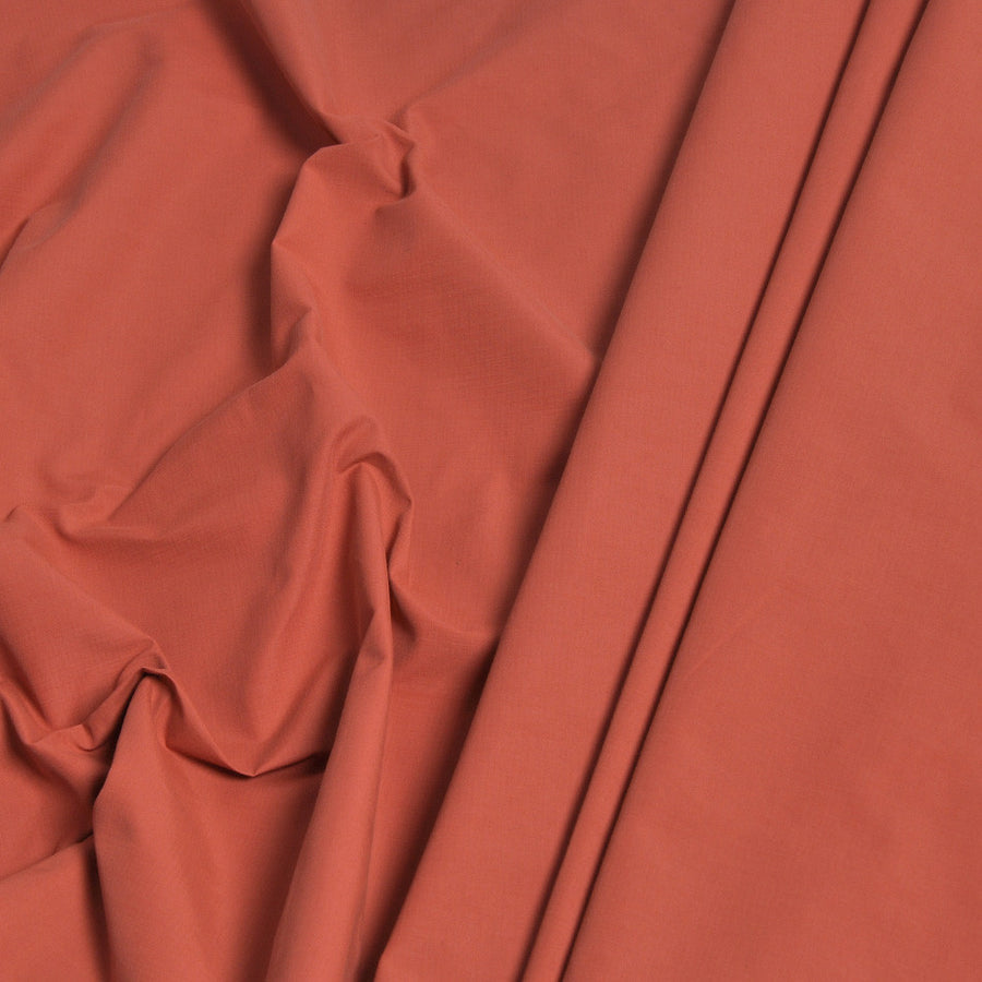 Orange Cotton/ Polyamide Fabric 441 - Fabrics4Fashion