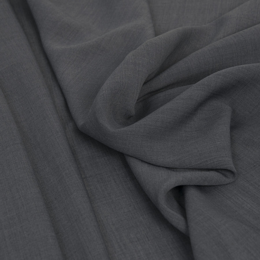 Mid Grey Lightweight Suiting Fabric 46Woven