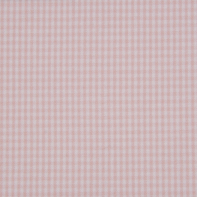 Stretch Vichy Cloud Pink 470Woven