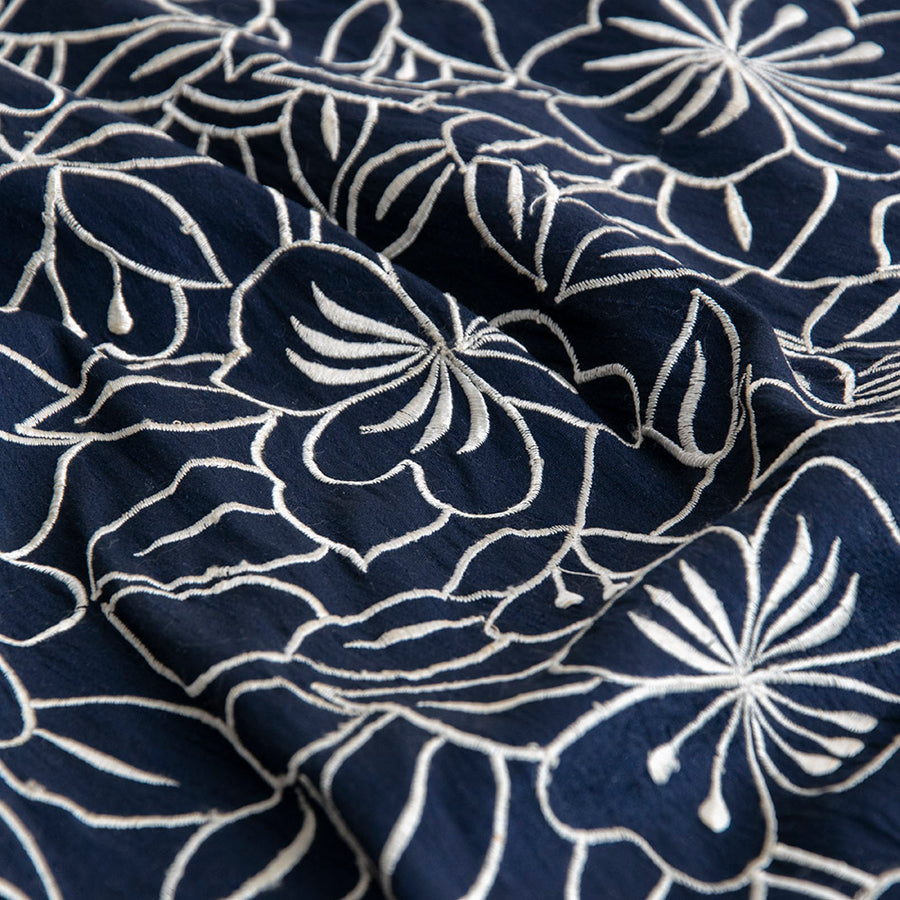 Navy Embroidery Silk 5257