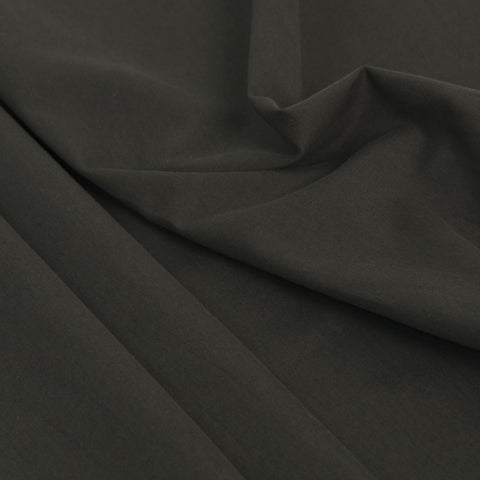 Charcoal Green Cotton Twill 56 - Fabrics4Fashion