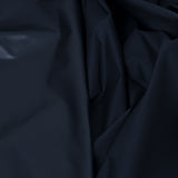 Navy Techno Poly Fabric  69Woven