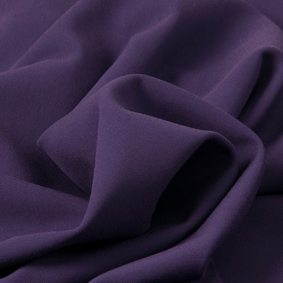 Purple Stretch Viscose Fabric 270 - Fabrics4Fashion