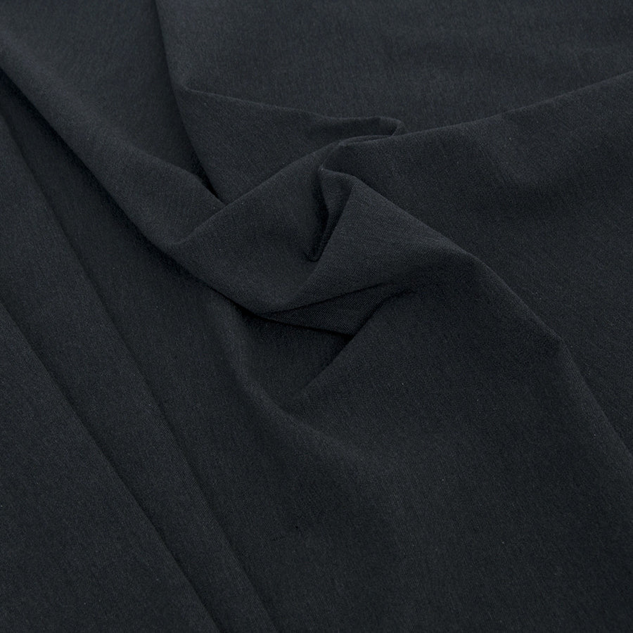 Charcoal Stretch Twill 74 - Fabrics4Fashion