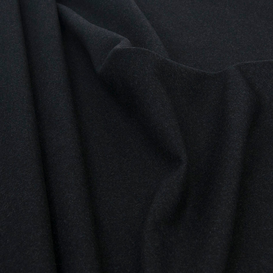 Graphite Grey Melton 1746 - Fabrics4Fashion