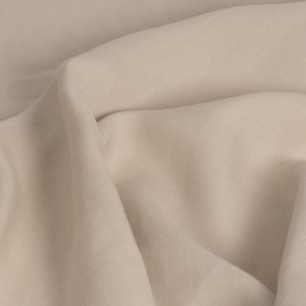 Beige 100% Linen 85 - Fabrics4Fashion