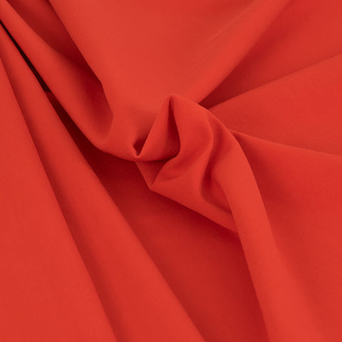 Vibrant Red Stretch Viscose Fabric 269Woven