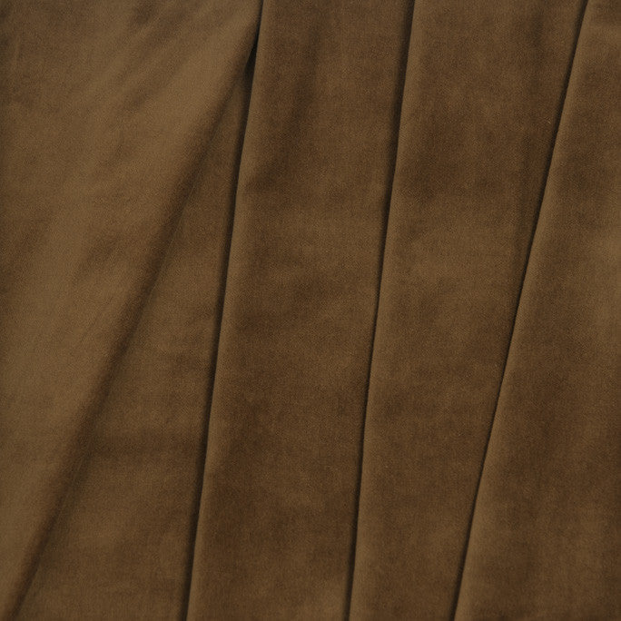 Camel Cotton Velvet 888 - Fabrics4Fashion