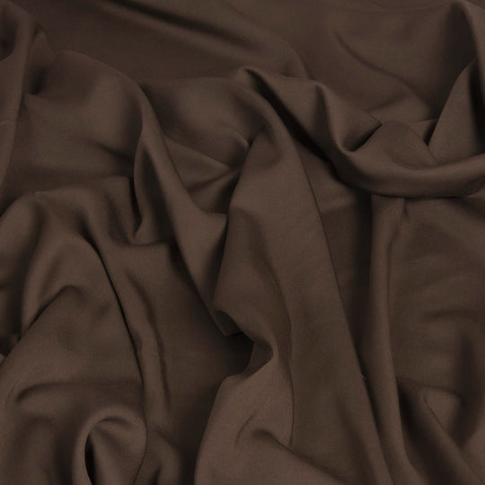 Walnut Brown Viscose 1456Woven