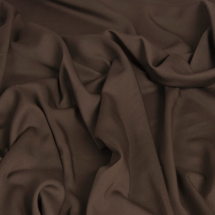 Walnut Brown Suiting Fabric 1456 - Fabrics4Fashion