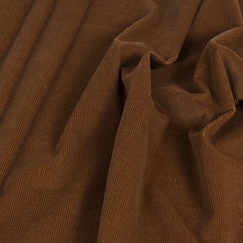 Camel Corduroy 100% Cotton 929 - Fabrics4Fashion