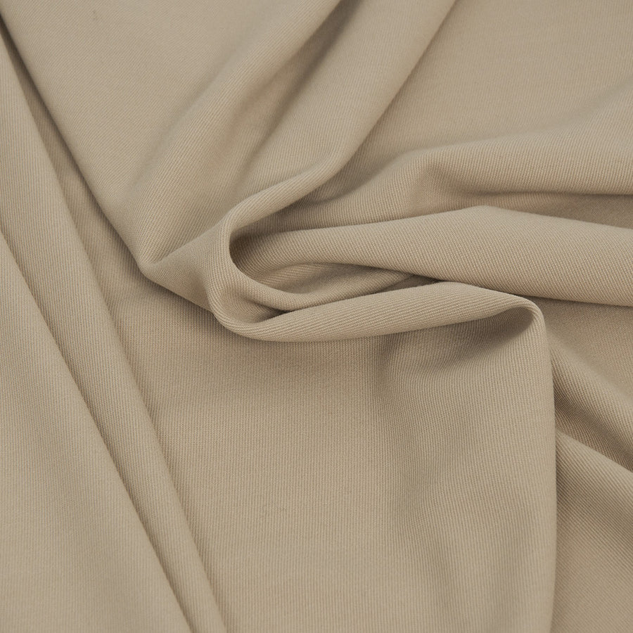 Beige Fleecewool Cotton Fabric 955Woven