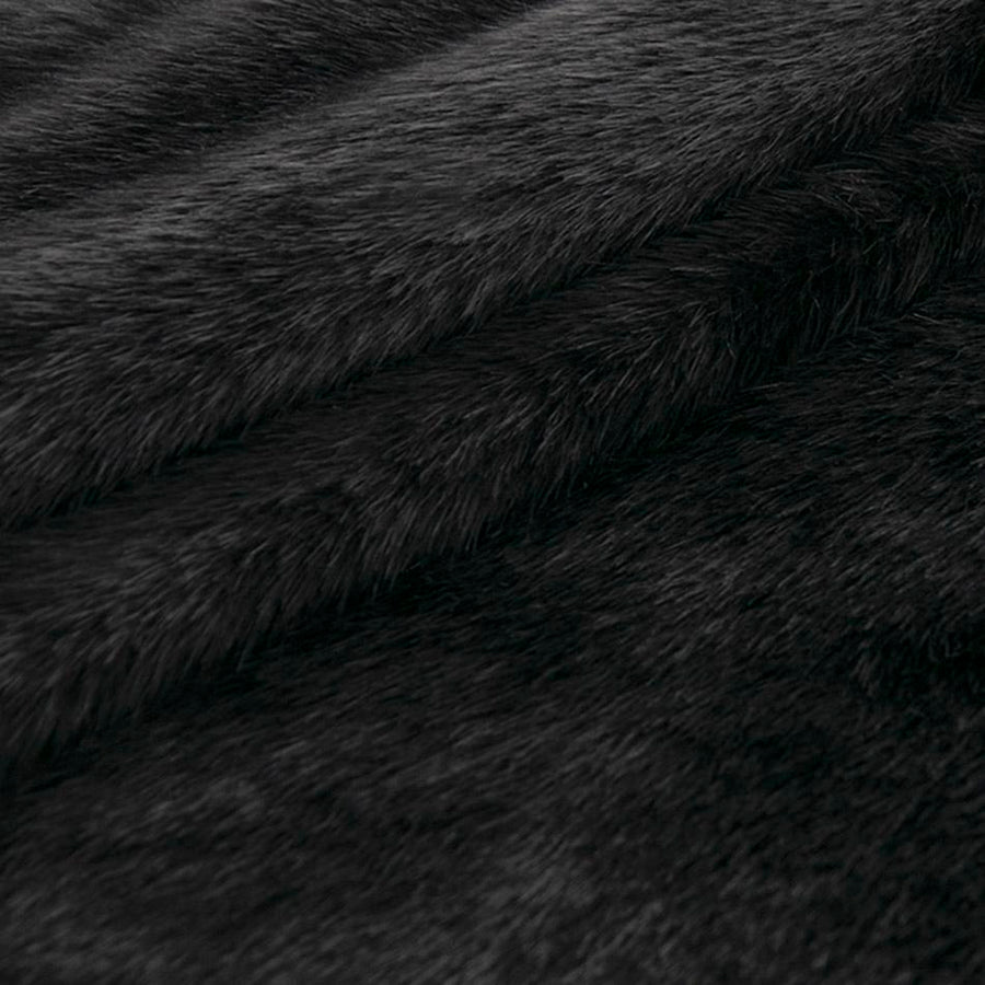 Black Faux Fur 4651