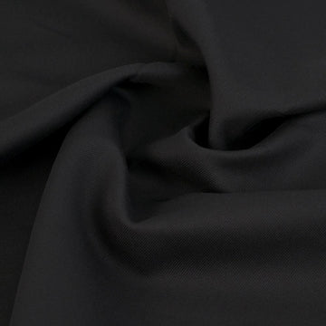 Black Heavy Twill 6398 - Fabrics4Fashion