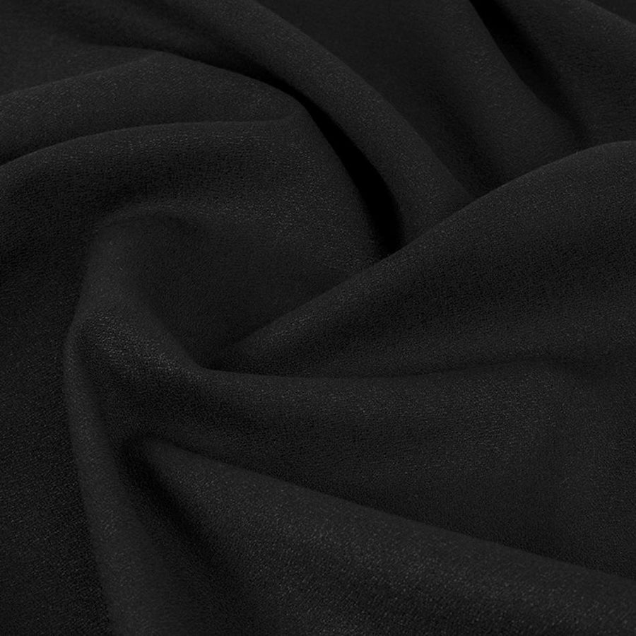 Black Suiting Fabric 5306 - Fabrics4Fashion