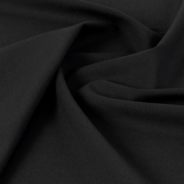 Black Suiting Fabric 4804