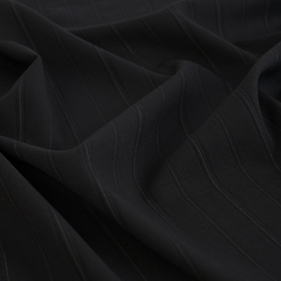 Black Suiting Fabric 5562