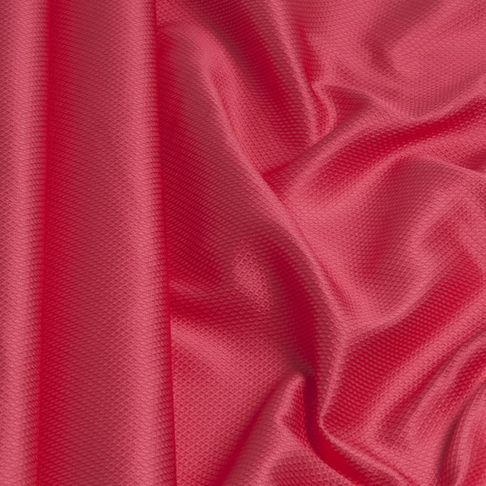 Fuchsia Honeycomb Jacquard 1220 - Fabrics4Fashion