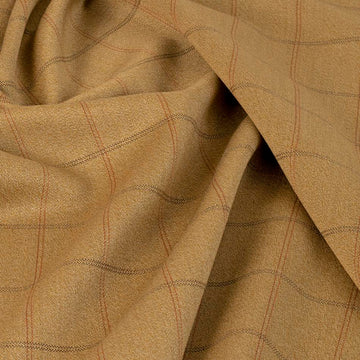 Khaki Beige Jacket Fabric 5302