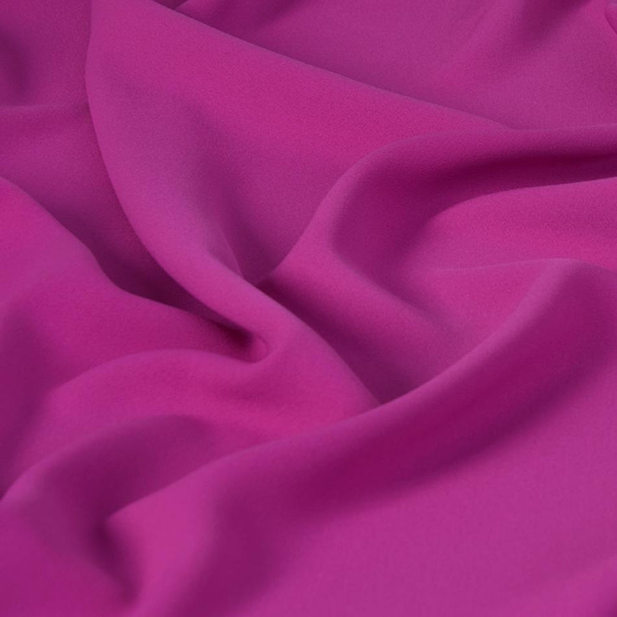 Magenta Polyester Crepe 2561