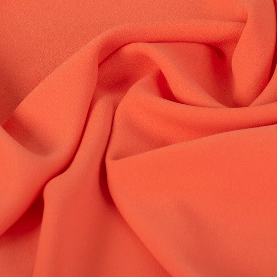 Orange Polyester Crepe 2011