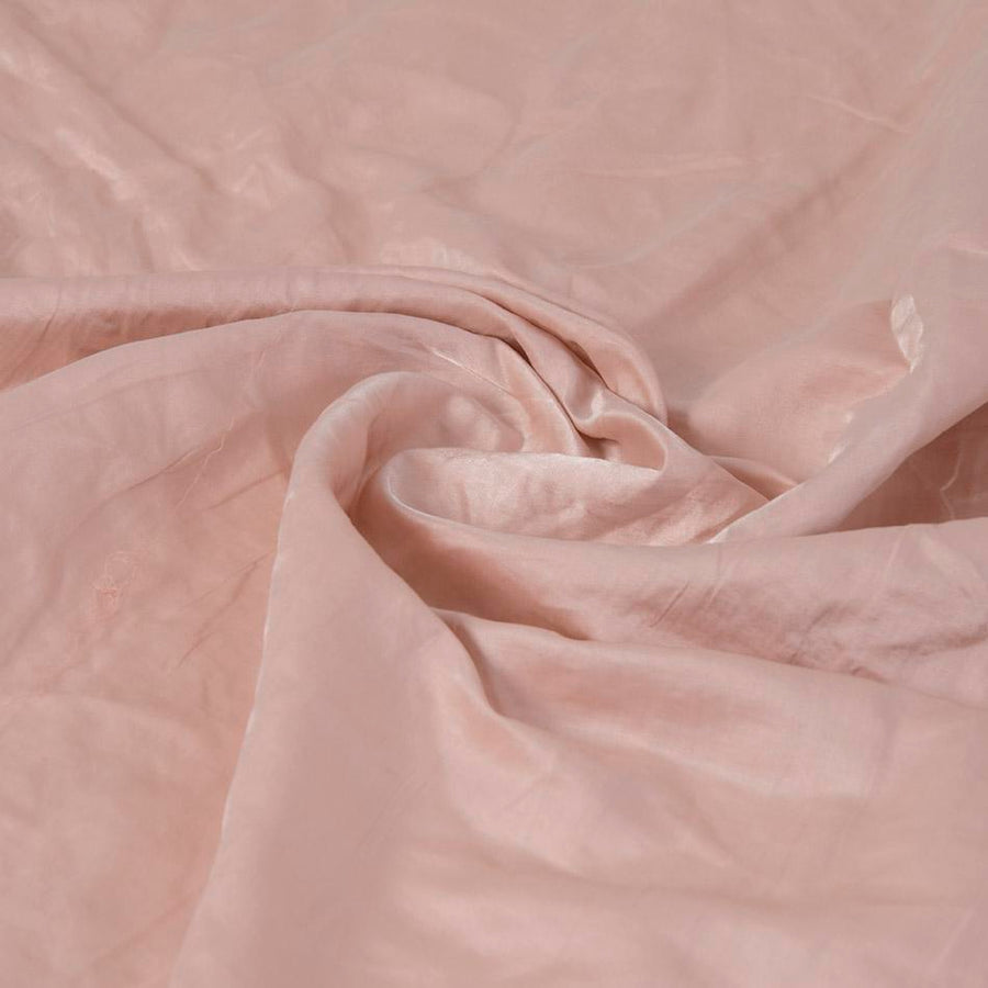 Pale Pink Washed Satin 5034
