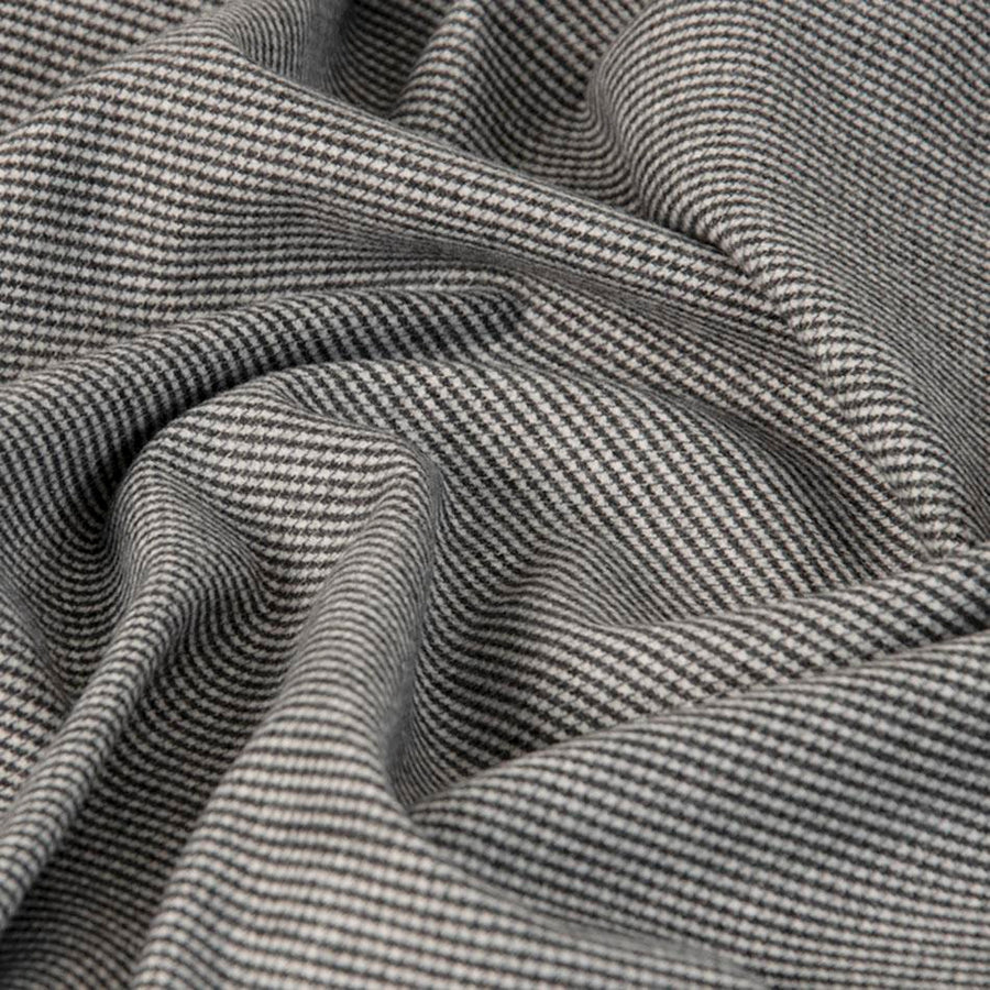 Pied Poule Wool Flannel 3461 - Fabrics4Fashion