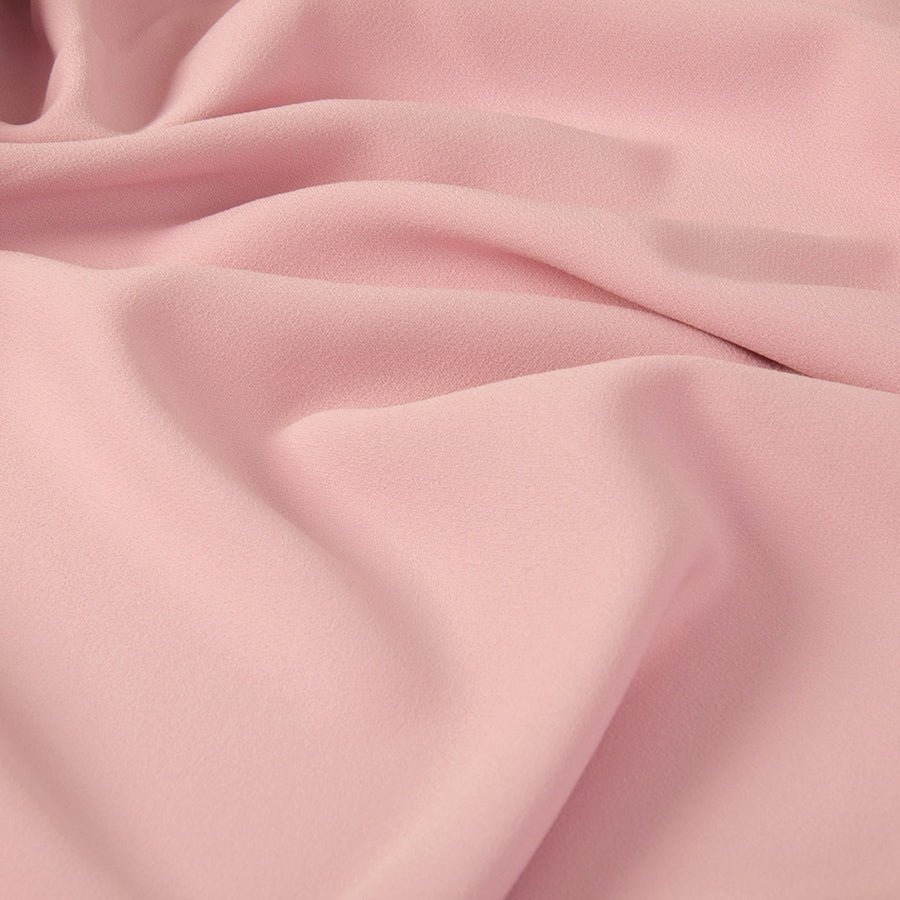 Pale Pink Crepe Back Satin Polyester 2013 - Fabrics4Fashion
