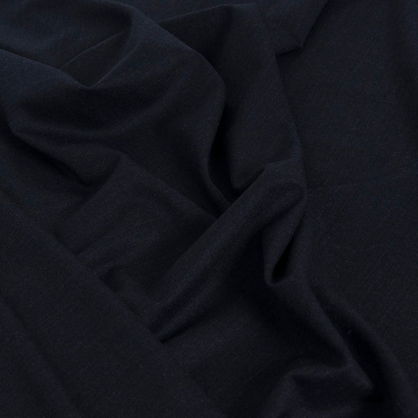 Navy Stretch Suiting Fabric 1851Woven