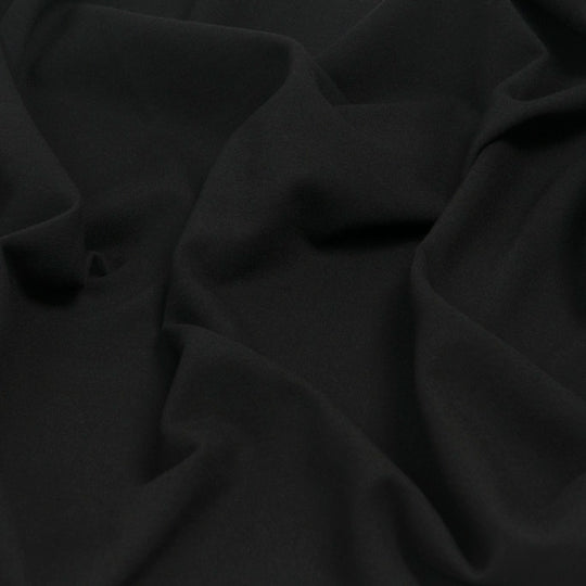Black Punto Roma Modal Blend 1063 - Fabrics4Fashion