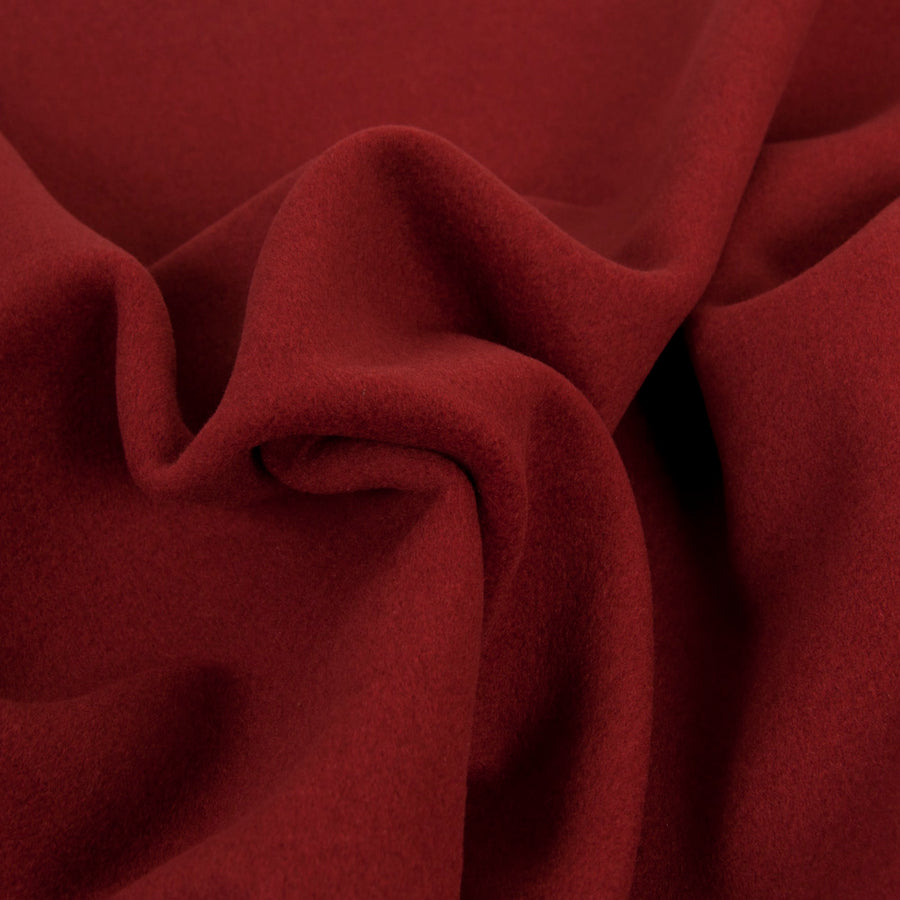 Burgundy Coating Fabric 1431 - Fabrics4Fashion