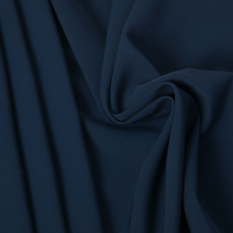 Navy Stretch Viscose 2690