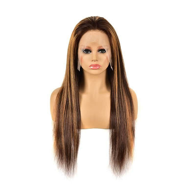 13x4 4x4 Brazilian piano color lace front wig 150% density - zsfwigs