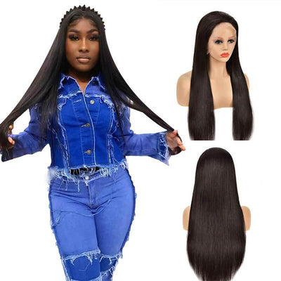 150% density Brazilian 13x4 lace front wigs human hair - zsfwigs