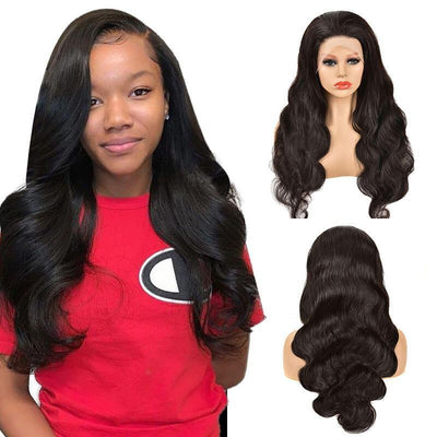 Body wave 150% density Brazilian 13x4 lace front wig human hair - zsfwigs