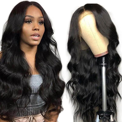 Body wave Brazilian 13x6 lace front wigs remy hair 150% density - zsfwigs