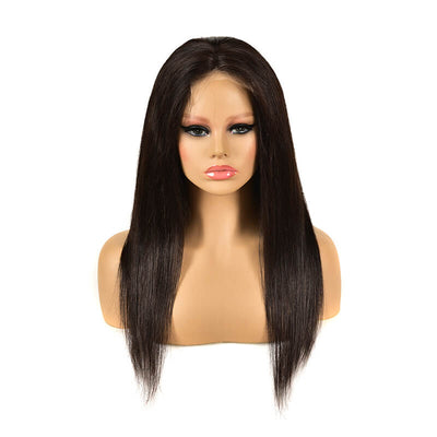 150% density Brazilian 5x5 lace closure wig straight hair
