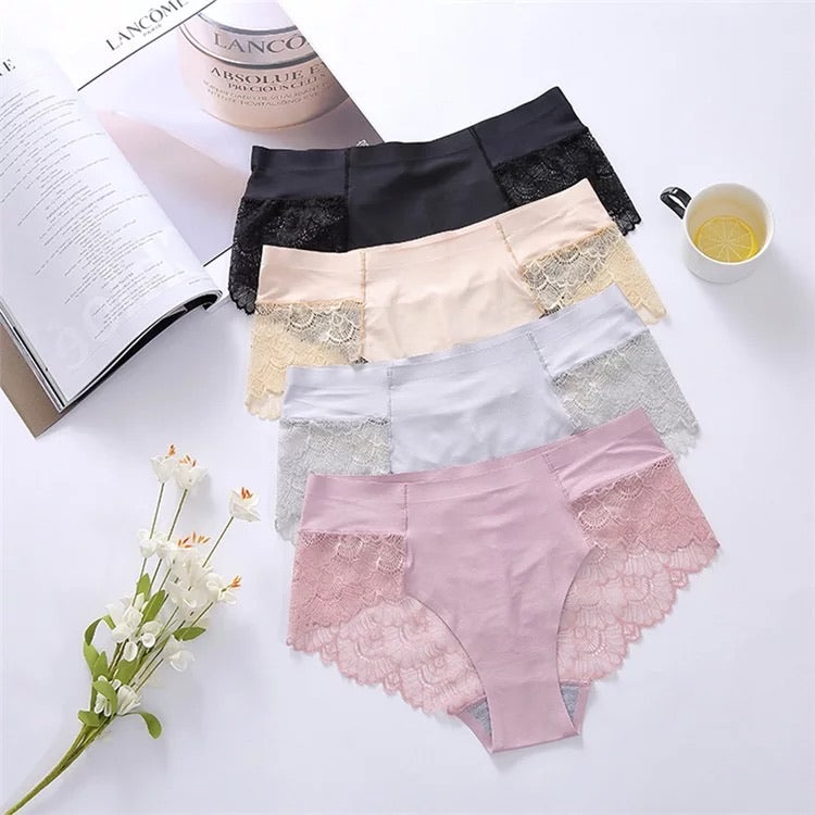 Pack de 4 Lace panties